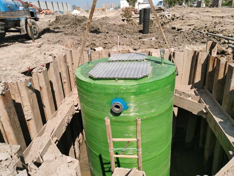 上虞一体化污水提升泵站