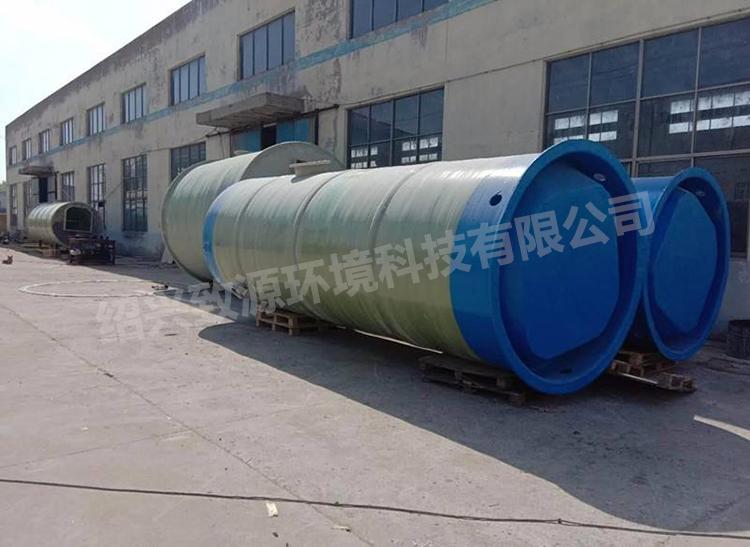 浙江一体化提升泵站的工作原理【致源环保】