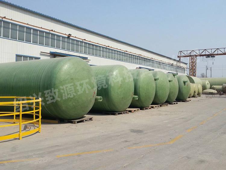 浙江化粪池厂家 ——选择玻璃钢化粪池的理由【致源环保】